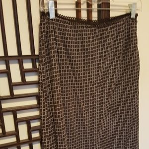 Style & Company Brown Skirt
